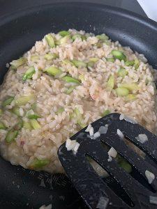 cuisson risotto aux asperges