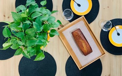 Banana bread (cake moelleux à la banane)