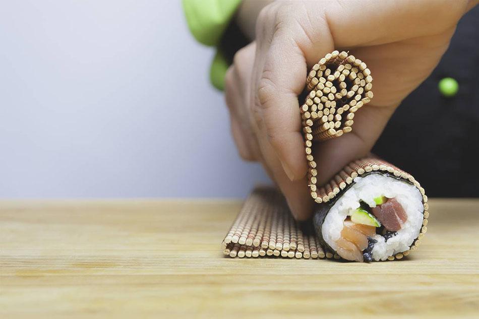 Technique pour faire des sushis